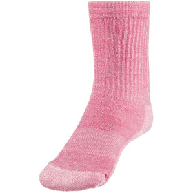 Smartwool Hike Light Crew Socks Kids Potion Pink